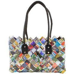 Paparazzi Recycled Magazine Shoulder Bag