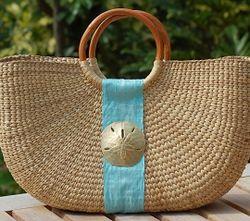 Half Moon Basket Bags