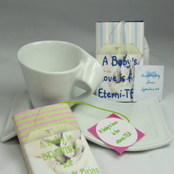 Baby's Tea Cup Shower Favor