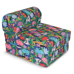 Jungle Animals Children's Foam Sleeper Chair