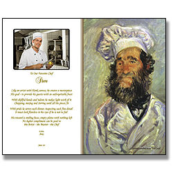 Personalized Poem for a Chef