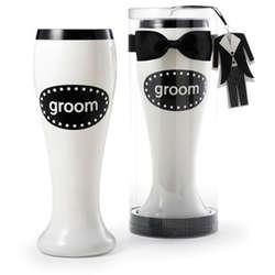 Groom Pilsner Bow Tie & Tuxedo