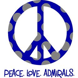 Peace Love School Name - School Spirit Shirt
