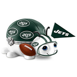 New York Jets Number One Fan Bug Music Box