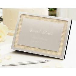 Lenox Jubilee Pearl Wedding Guest Book