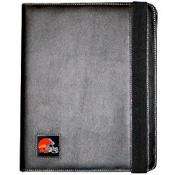 NFL Team Logo High Grain Leather iPad Case