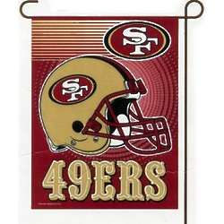 San Francisco 49ers Garden Flag