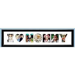 Personalized We Heart Mommy Photo Collage Frame