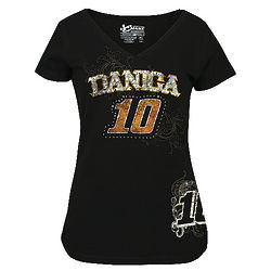Danica Patrick Lady's Speed Diva V-Neck T-Shirt