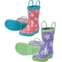 Jersey Lined Rain Boots