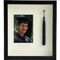 Personalized Graduation Tassel Hanging Shadow Box