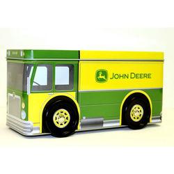 John Deere Truck Tin Coin Bank