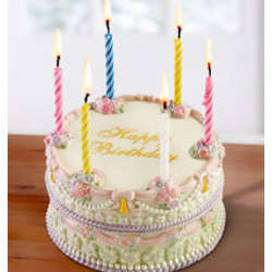 Lenox® Happy Birthday Music Box Cake