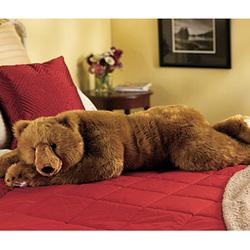Brown Bear Hug Body Pillow