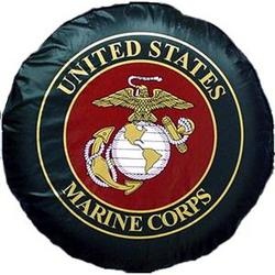 USMC Black Tire Cover