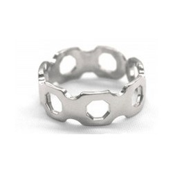 Women's Polished Octagon Ring
