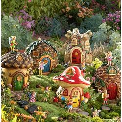 Garden Fairy Village Collection