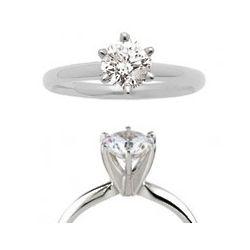 1.50 Carat Brilliant Cut Diamond Engagement Ring