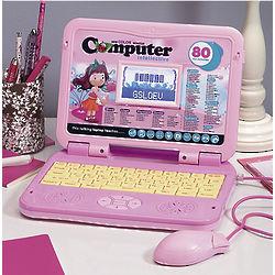 Pink Children's Laptop Learner
