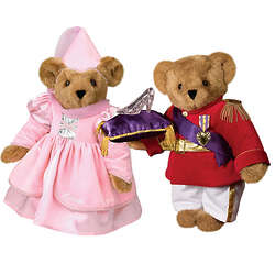 Princess and Prince Charming Bear Set