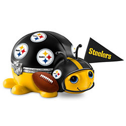 Pittsburgh Steelers Number One Fan Bug Music Box