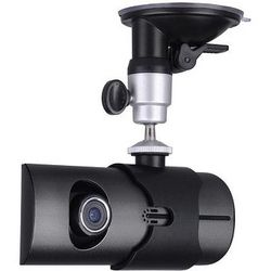 HD Dual Lens Dash Board Car Camera DVR with GPS