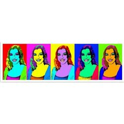 5 Panel Pop Art Print from Custom Photo