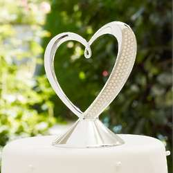 Lenox Jubilee Pearl Wedding Cake Topper