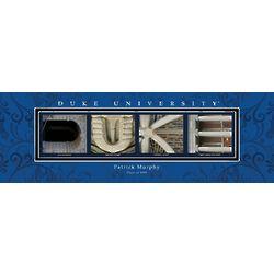 Duke University Architecture Personalized Art Print