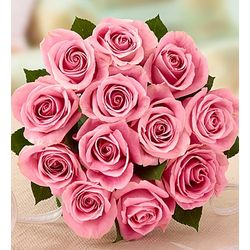 Pretty in Pink Rose Bouquet