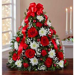 Large Holiday Flower Tree