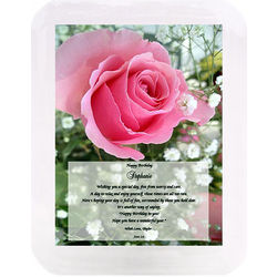 Birthday Musical Poetry Frame for Her