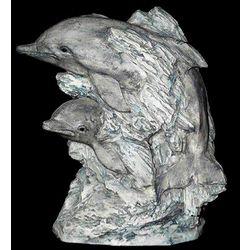 Large Decorative Dolphin Sculpture