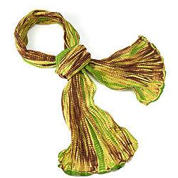 Shibori Tie-Dye Scarf