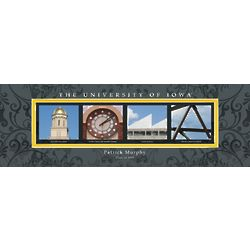 University of Iowa Architecture Personalized Art Print