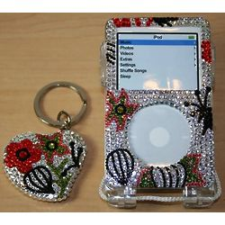 Crystal iPod Case and Key Chain