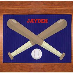 Personalized Baseball Fan Placemat
