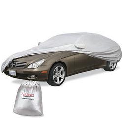 Silver Car Cover