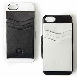 Folio Leather Clip iPhone 5 Case