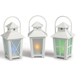5-Hour Timer Lanterns in White