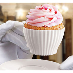 Teacupcakes Cupcake Molds with Saucers