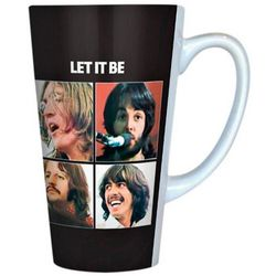 The Beatles Let It Be Latte Mug