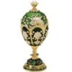 Petroika Larissa Faberge-Style Enameled Egg