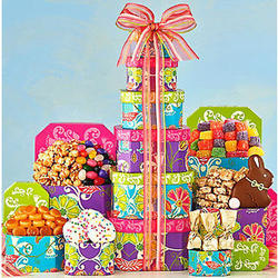 Springtime Easter Gift Tower