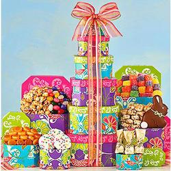 Springtime Easter Gift Tower