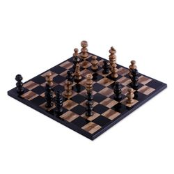 Worthy Match Marble Chess Set