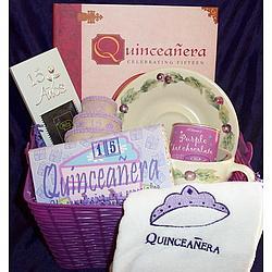 Quinceanera Gift Basket