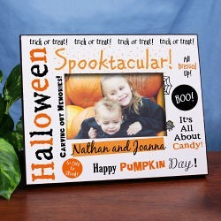 Spooktacular Halloween Printed Frame