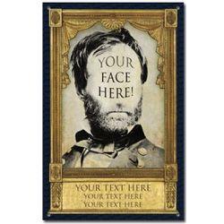 Personalized Historical Sherman Portrait