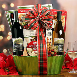 Redwood Vineyards California Duet Gift Basket